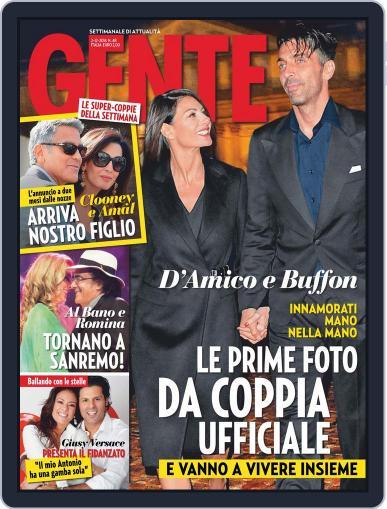Gente (Digital) November 21st, 2014 Issue Cover