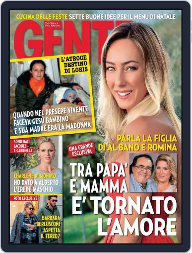 Gente (Digital) December 12th, 2014 Issue Cover