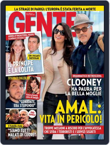 Gente (Digital) January 9th, 2015 Issue Cover