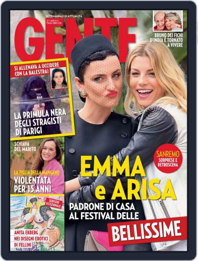Gente (Digital) January 16th, 2015 Issue Cover