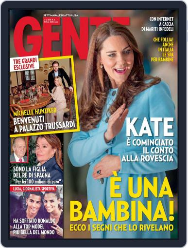 Gente (Digital) February 3rd, 2015 Issue Cover