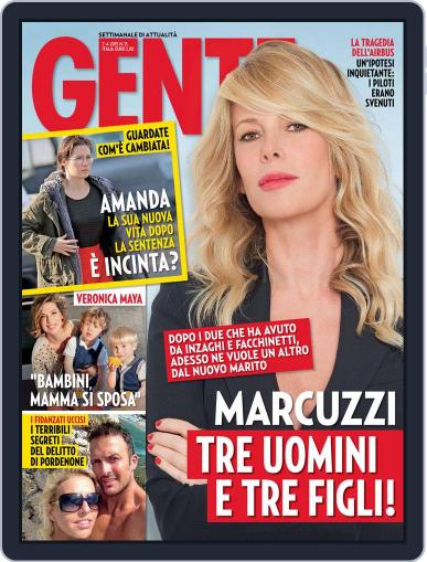 Gente (Digital) March 27th, 2015 Issue Cover