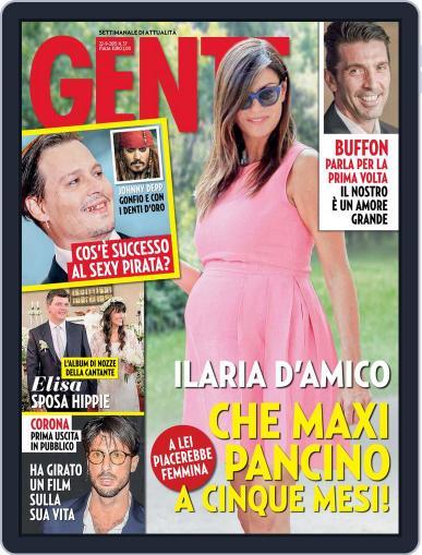 Gente (Digital) September 11th, 2015 Issue Cover