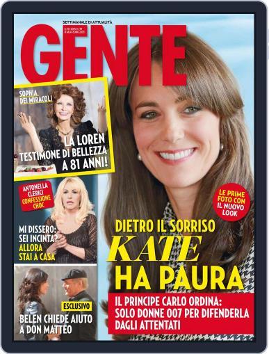 Gente (Digital) September 25th, 2015 Issue Cover