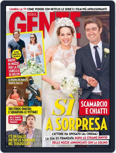 Gente (Digital) October 9th, 2015 Issue Cover