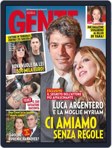 Gente (Digital) October 16th, 2015 Issue Cover
