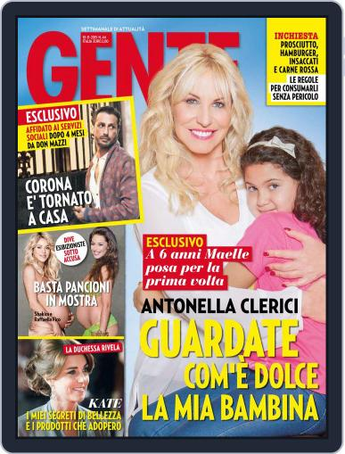 Gente October 30th, 2015 Digital Back Issue Cover
