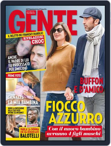 Gente November 13th, 2015 Digital Back Issue Cover