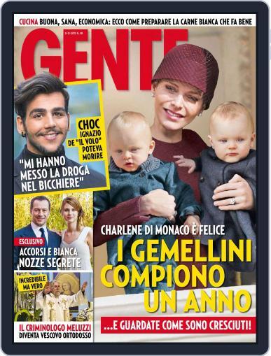 Gente (Digital) November 27th, 2015 Issue Cover