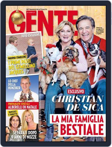Gente December 18th, 2015 Digital Back Issue Cover