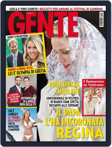 Gente (Digital) February 2nd, 2016 Issue Cover