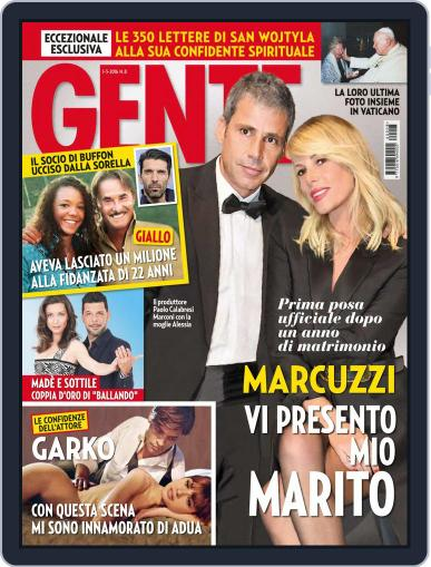 Gente (Digital) February 20th, 2016 Issue Cover
