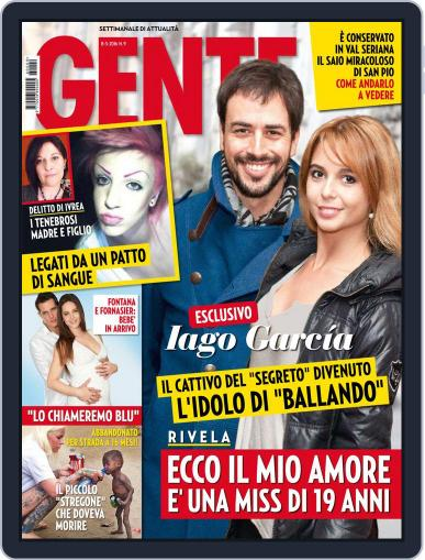 Gente February 27th, 2016 Digital Back Issue Cover