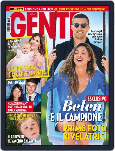 Gente (Digital) June 25th, 2016 Issue Cover
