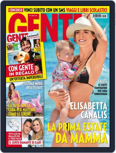 Gente July 9th, 2016 Digital Back Issue Cover