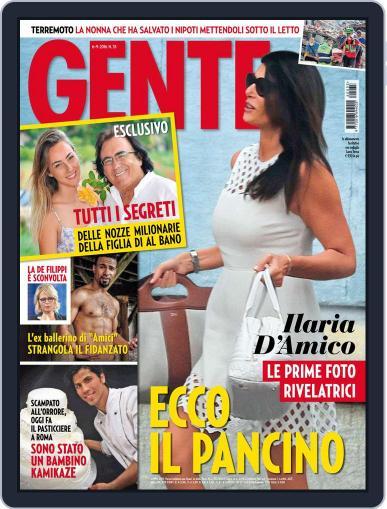 Gente September 6th, 2016 Digital Back Issue Cover