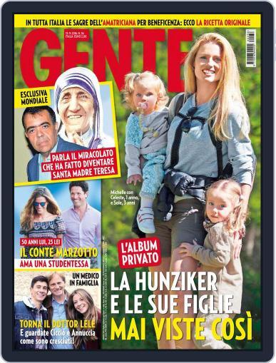 Gente September 13th, 2016 Digital Back Issue Cover