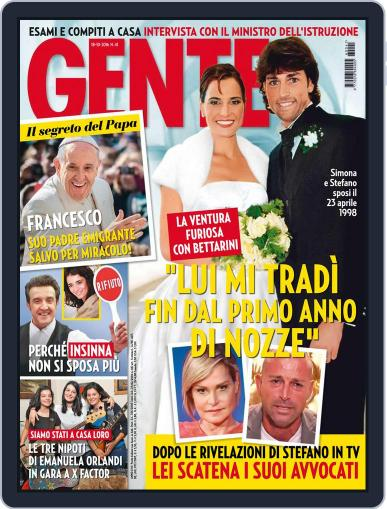 Gente (Digital) October 18th, 2016 Issue Cover