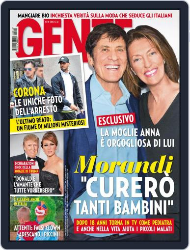Gente (Digital) October 25th, 2016 Issue Cover