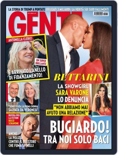 Gente (Digital) November 29th, 2016 Issue Cover