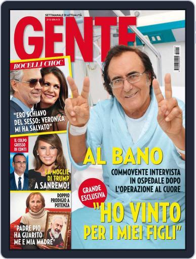 Gente December 27th, 2016 Digital Back Issue Cover