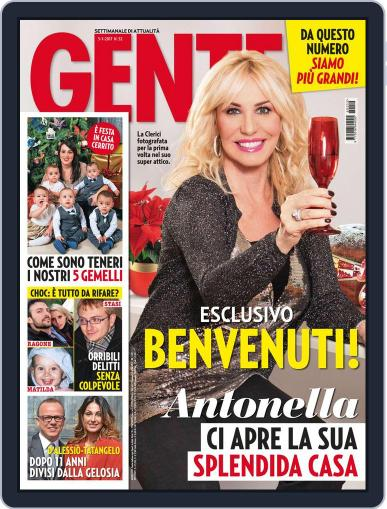 Gente (Digital) January 3rd, 2017 Issue Cover