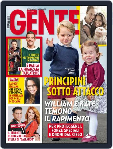 Gente (Digital) March 7th, 2017 Issue Cover