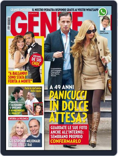 Gente (Digital) March 14th, 2017 Issue Cover