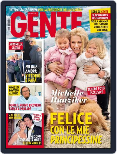 Gente (Digital) March 25th, 2017 Issue Cover
