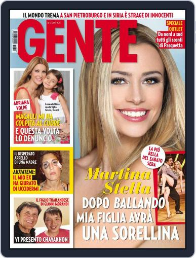 Gente (Digital) April 18th, 2017 Issue Cover