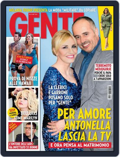 Gente May 30th, 2017 Digital Back Issue Cover