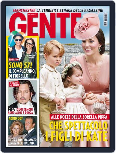 Gente (Digital) June 6th, 2017 Issue Cover