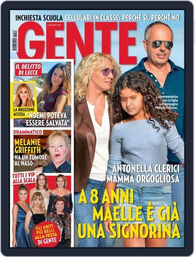 Gente (Digital) October 3rd, 2017 Issue Cover