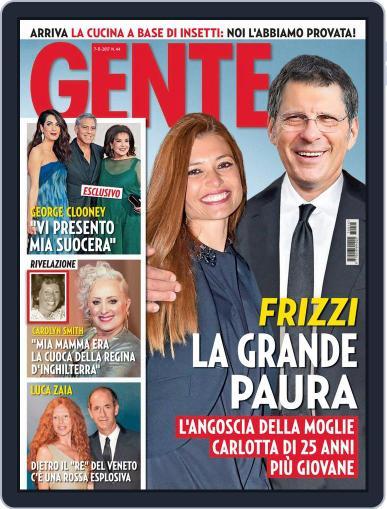 Gente November 7th, 2017 Digital Back Issue Cover