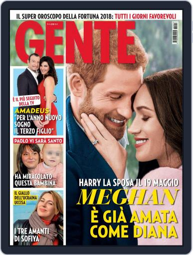 Gente January 9th, 2018 Digital Back Issue Cover