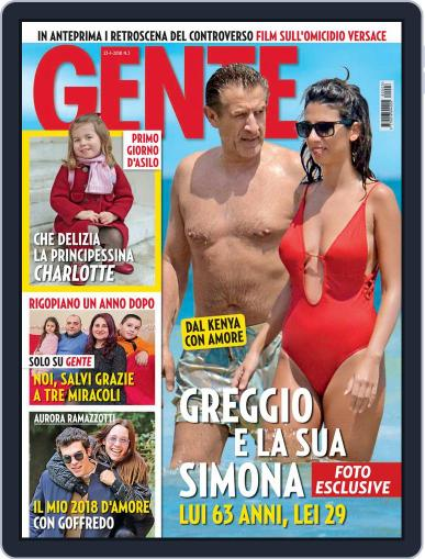 Gente (Digital) January 23rd, 2018 Issue Cover