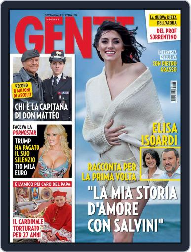 Gente (Digital) January 30th, 2018 Issue Cover