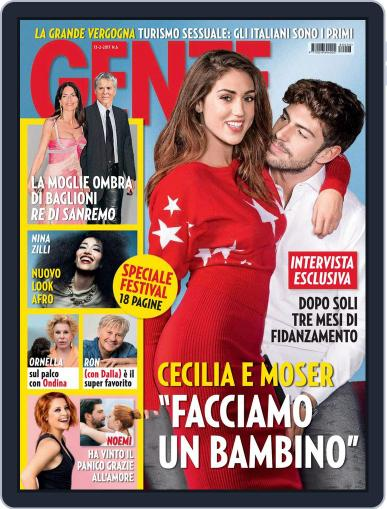Gente (Digital) February 13th, 2018 Issue Cover