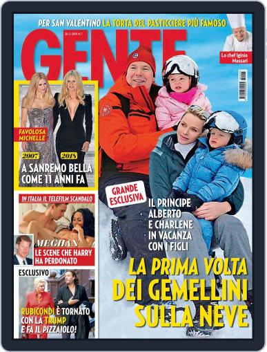 Gente (Digital) February 20th, 2018 Issue Cover