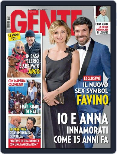 Gente (Digital) February 27th, 2018 Issue Cover