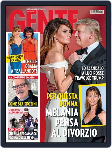 Gente (Digital) March 6th, 2018 Issue Cover