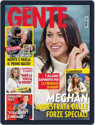 Gente March 27th, 2018 Digital Back Issue Cover