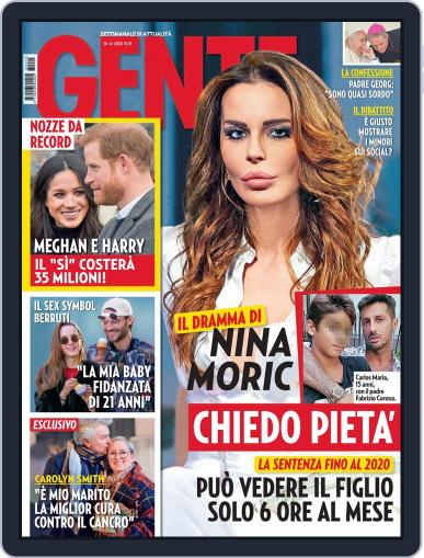 Gente April 14th, 2018 Digital Back Issue Cover