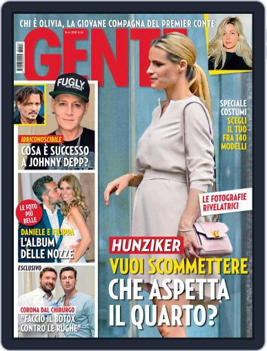 Gente (Digital) June 16th, 2018 Issue Cover