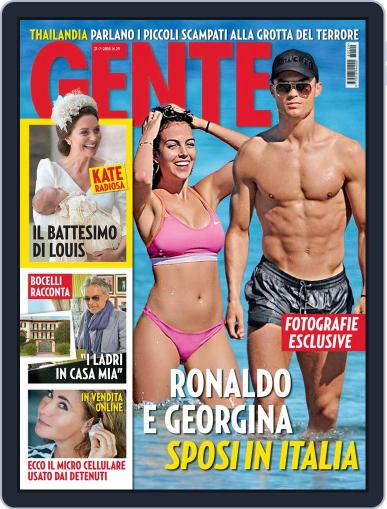 Gente July 21st, 2018 Digital Back Issue Cover