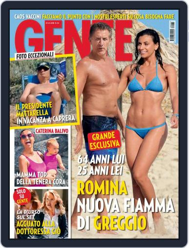 Gente (Digital) August 25th, 2018 Issue Cover