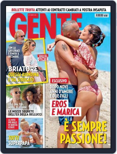Gente (Digital) September 8th, 2018 Issue Cover