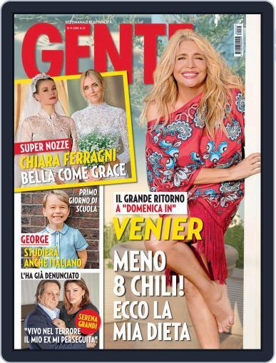 Gente (Digital) September 15th, 2018 Issue Cover