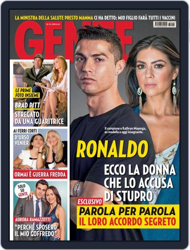 Gente (Digital) October 20th, 2018 Issue Cover