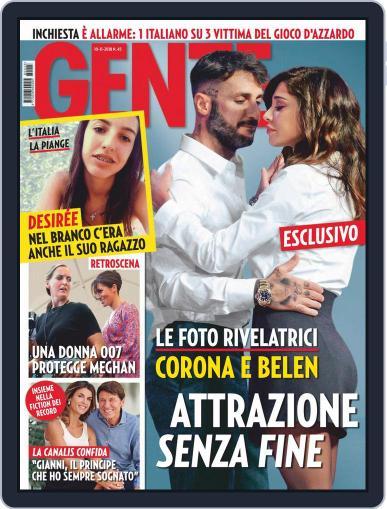 Gente (Digital) November 10th, 2018 Issue Cover